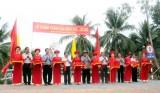 Nguyên Chủ tịch nước - Trương Tấn Sang dự Lễ khánh thành cầu nông thôn tại Đức Hòa