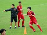 Tuyển U23 Việt Nam đá giao hữu với U23 Myanmar