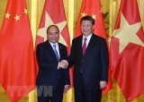 Thủ tướng Nguyễn Xuân Phúc hội kiến Chủ tịch Trung Quốc Tập Cận Bình