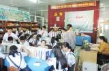Đồng hành cùng học sinh trong ngày hội sách