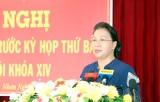 Chủ tịch Quốc hội tiếp xúc cử tri tại hai quận, huyện của Cần Thơ