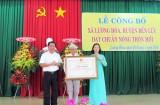 Xã Lương Hòa, huyện Bến Lức đạt chuẩn Nông thôn mới