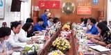 Trung ương Đoàn giám sát tại huyện Cần Giuộc