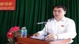 Cử tri Tân Thạnh quan tâm vấn đề ùn tắc giao thông