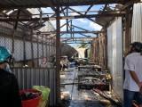 Bạc Liêu: Nổ bình gas, 2 căn nhà bị thiêu rụi, 3 căn nhà bị hư hỏng