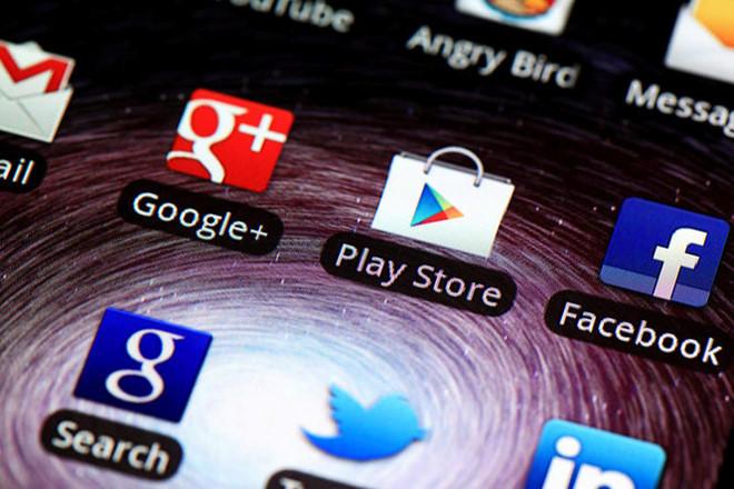 Việc đánh giá xếp hạng ứng dụng Play Store sắp được sửa đổi. Ảnh: AFP