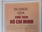 Giá trị trường tồn Di chúc của Chủ tịch Hồ Chí Minh