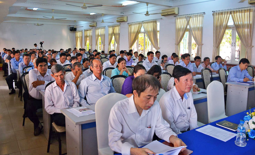 Delegates attended the training workshop