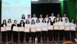 Agribank Long An biểu dương, khen thưởng trong học tập và làm theo tư tưởng, đạo đức, phong cách Hồ Chí Minh 2019