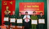 Thưởng nóng Ban chuyên án vụ bắt hơn 60kg ma túy từ Campuchia về Việt Nam tiêu thụ
