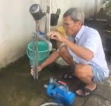 Hơn 200 hộ dân thiếu nước sinh hoạt