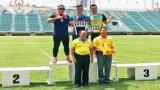 Vận động viên Long An đoạt Huy chương Vàng - Giải Điền kinh Thái Lan mở rộng
