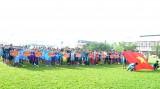 Khai mạc Giải bóng đá học sinh cấp Tiểu học và THCS Long An