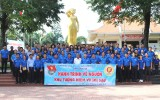 Đoàn Thanh niên viếng Khu tưởng niệm Võ Thị Sáu