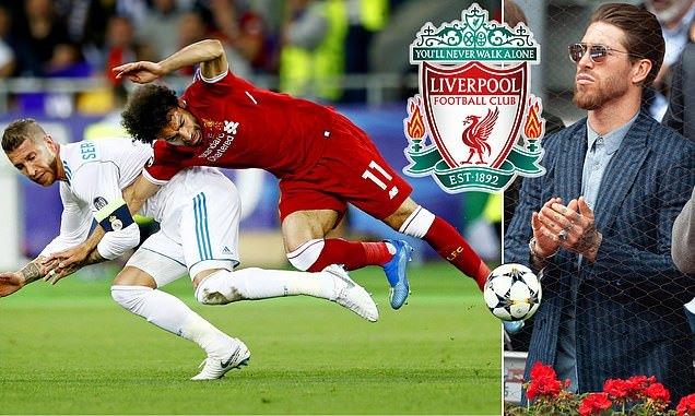 Sergio Ramos quyết rời Real Madrid để đến với Liverpool