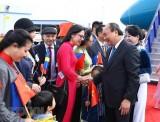 Thủ tướng Nguyễn Xuân Phúc bắt đầu thăm chính thức Thụy Điển