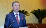 """Quốc hội bắt đầu chất vấn, Bộ trưởng Tô Lâm """"đăng đàn"""" đầu tiên"""