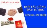 Hợp tác đầu tư kinh doanh bất động sản cùng Nam Việt Land