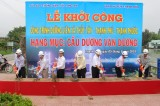 Long An khởi công xây dựng cầu Dương Văn Dương ở huyện Thạnh Hóa