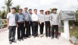 Đức Hòa: Sức bật từ những cây cầu nông thôn