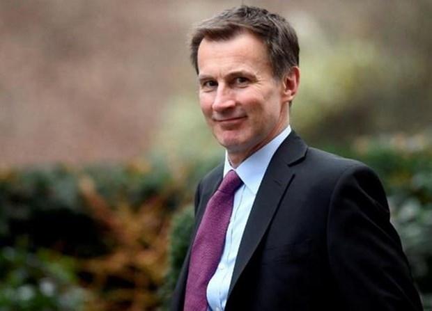 Ngoại trưởng Anh Jeremy Hunt. (Nguồn: Reuters)