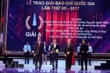 Giải Báo chí quốc gia: Phản ánh đậm nét các sự kiện chính trị lớn