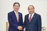 Thủ tướng: Mong Hàn Quốc tiếp tục hỗ trợ Việt Nam phát triển bóng đá