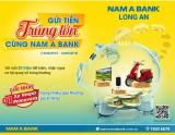 Gửi tiền Nam A Bank Long An, trúng xe vespa sành điệu