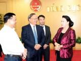 Chủ tịch Quốc hội Nguyễn Thị Kim Ngân làm việc tại Tổng cục Thuế