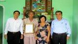 Vietcombank Long An trao nhà tình nghĩa tại huyện Cần Giuộc
