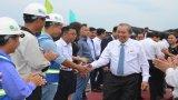 Phó Thủ tướng Thường trực Chính phủ - Trương Hòa Bình thăm Nhà máy năng lượng mặt trời BCG - CME Long An 1