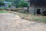 Lũ ống, lũ quét gây nhiều thiệt hại về nhà cửa tại Sa Pa
