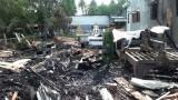 An Giang: Hỏa hoạn tại cơ sở sản xuất đồ gỗ, thiệt hại hàng tỉ đồng