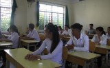 Long An: 28 thí sinh vắng thi môn Toán