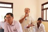 Cử tri xã Long Thuận đề xuất giải quyết nhiều vấn đề ảnh hưởng đến đời sống