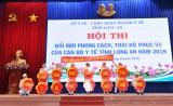 Long An tổ chức Hội thi Đổi mới phong cách, thái độ phục vụ cán bộ y tế