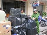 6 tháng, lực lượng 389 Long An tạm giữ, tịch thu 882.470 gói thuốc lá ngoại nhập lậu