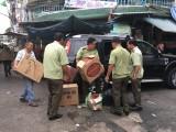 Bắt giữ gần 12.000 gói thuốc lá lậu tàng trữ trái phép tại chợ Tân An