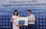 TTXVN giành hai Giải thưởng Nghiên cứu Biển Đông 2018