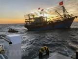 Quyết liệt tìm kiếm ngư dân bị chìm tàu ở khu vực biển Hải Phòng