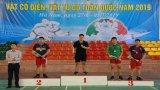 Đội võ vật Long An tham gia giải Vô địch trẻ Vật cổ điển, Vật tự do toàn quốc năm 2019