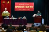 Bộ Quốc phòng tổ chức họp báo quý 2/2019 về các nội dung quan trọng