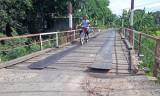 Hai cây cầu trên tuyến đường Vĩnh Hưng - Thái Trị cần sớm được thi công