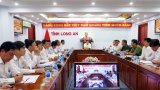 Long An: Họp trực tuyến với Chính phủ về tình hình triển khai Luật Quy hoạch