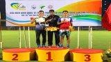 Vận động viên Đội tuyển Điền kinh Long An phá kỷ lục Quốc gia