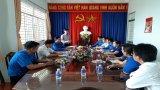 Trung ương Đoàn làm việc tại TP.Tân An