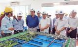 Đoàn công tác tỉnh Long An tham quan Công ty Formosa - Hà Tĩnh