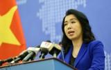 Trao công hàm phản đối Trung Quốc vi phạm vùng đặc quyền kinh tế