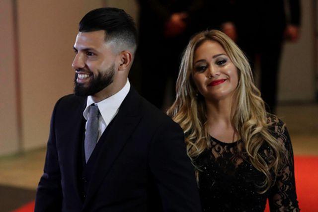 Aguero từng hẹn hò với nữ ca sĩ Karina Tejeda