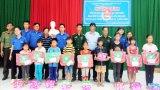 Đoàn Thanh niên Cụm thi đua số 3 - Khối Cơ quan và Doanh nghiệp Long An tổ chức hoạt động an sinh xã hội